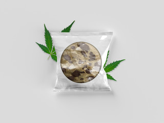 Cannabis Infused Edibles Package - Chocolate Chip Weed Cookie