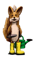 Garten Fuchs I