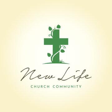 Nature Church / Christian logo design