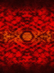 Red patterned background with snake skin effect
