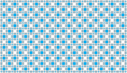 sky blue and white modern tartan pattern.Texture for : plaid, tablecloths, clothes, shirts, dresses, paper, bedding, blankets, quilts and other textile products. - Vector