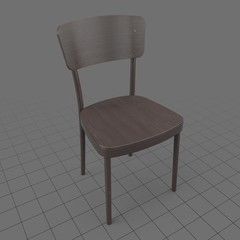 Wooden dining chair 2
