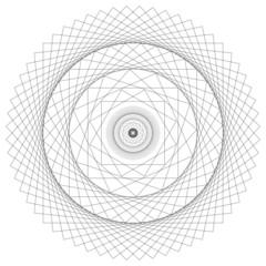Energy Spiral Vector Sacred Geometry Mandala Energy Field