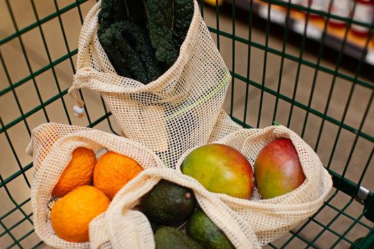 reusable bag shopping