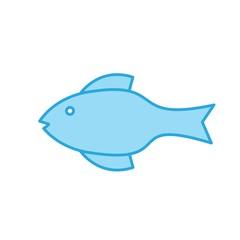 vector illustration of fish