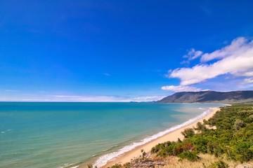 Beautiful seascape from Rex Lookout in Wangetti, Queensland, Australia.