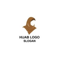 Women hijab logo.