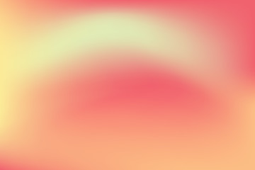 Abstract blurred gradient mesh background in bright rainbow colors. Colorful smooth banner template