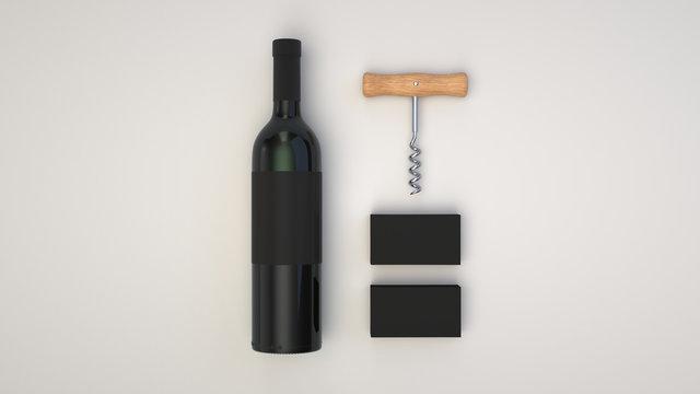 Wine or sommelier branding template