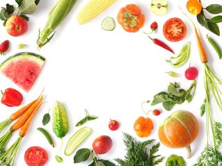 Fototapete - organic food,healthy eating,healthy food,eating,above,abstract,assorted,background,collage,colorful,composition,concept,diet,flat,food,frame,fresh,fruit,fruits,green,harvest,healthy,ingredient,isolate