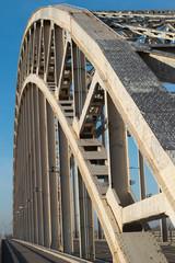 Bridge Waalbrug Near Nijmegen