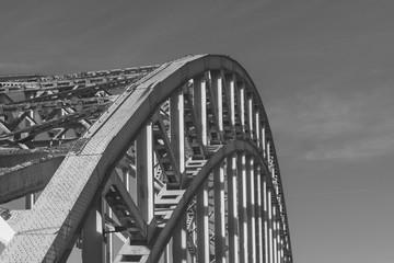 Bridge Waalbrug Nijmegen In Detail