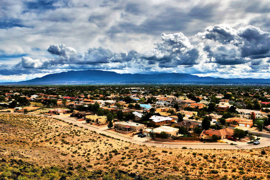 Albuquerque from the Petroglyphs