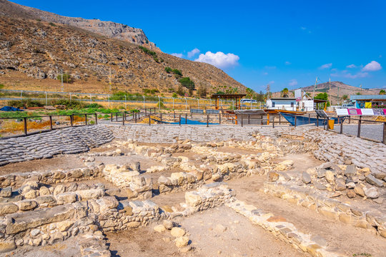 Ruins of Magdala near sea of galilee in Israel