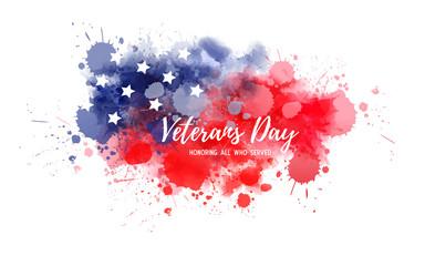 USA Veterans day holiday