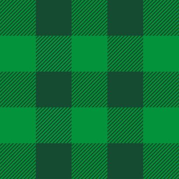 St. Patrick's day tartan plaid. Scottish pattern. Scottish cage. Traditional Scottish checkered background