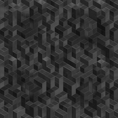Cube endless background texture