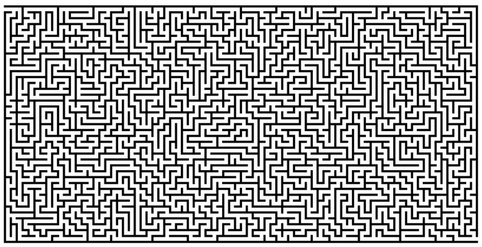 WALL GRAPHIC MAZE