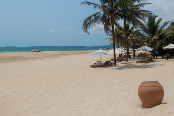 Arossim Beach in Goa India, most beautiful beaches