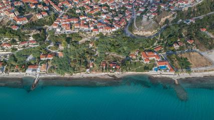 Afytos village. Kassandra of Halkidiki, Greece