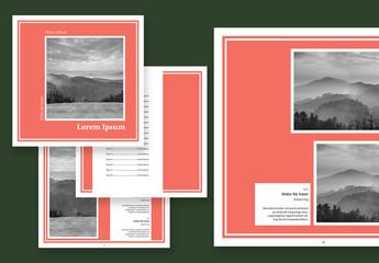 Square Photo Album Layout