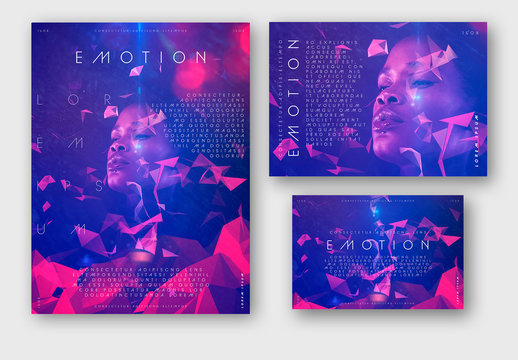Event Poster Promotional Layout Set