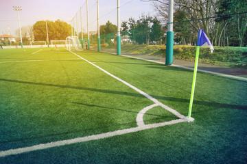 フットボール(サッカー)のグラウンド