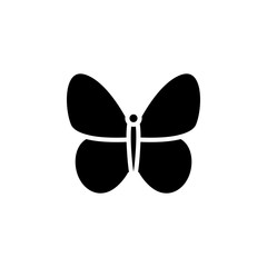 Butterfly icon vector. Butterfly vector design. sign design. flat style. Vector EPS 10