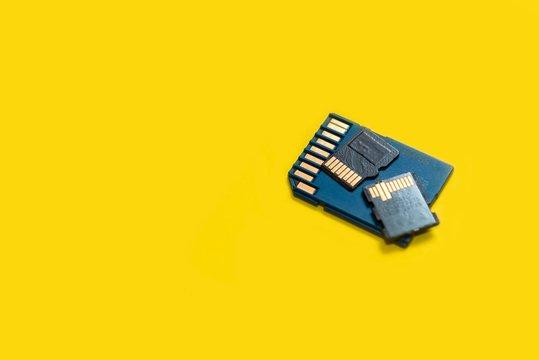 SD memory cards. micro sd card