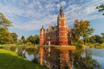 Obraz Pałac Mużakowski - fototapety do salonu