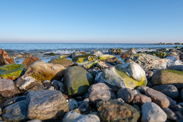 rocks and sea - baltic sea - Germany -Buelk - Bülk