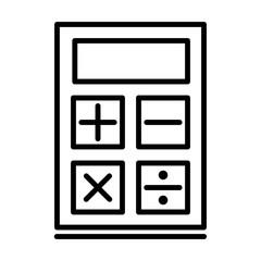 Calculatior Education Vector Icon