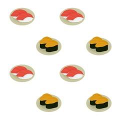 寿司の模様