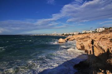 Ayia napa, Mediterranean sea, Cyprus
