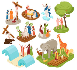 Bible Narratives Isometric Set