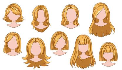 Short Hair Cartoon Stock Photos And Royalty Free Images Vectors