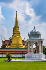 Exterior view of the Grand Palace, Bangkok, Thailand