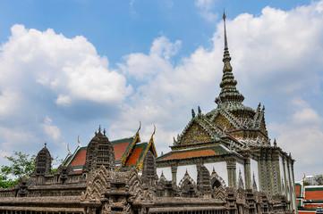 Emerald Temple in Grand Palace, Bangkok, Thailand