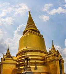 Golden stupa in Grand Palace, Bangkok, Thailand