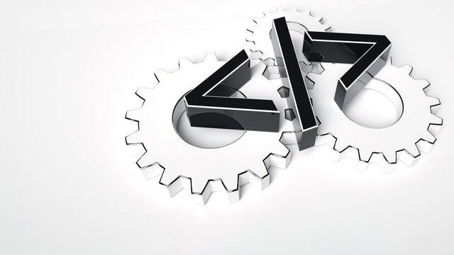 Software Development Symbol - 3D Illustration