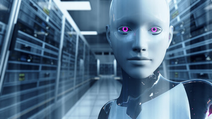 Android Artificial Intelligence in Server Room