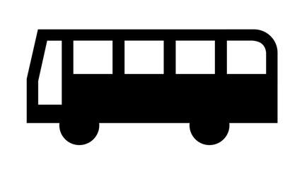 バスのマーク