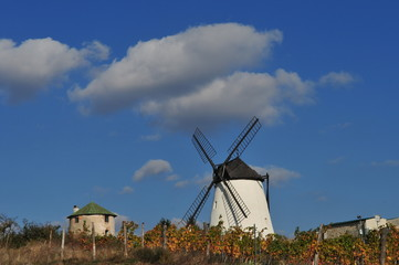Windmill near retz, weinviertel, lower austria