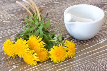 hawkbit with mortar and pestle
