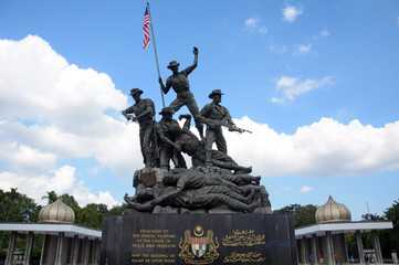 National Monument, Kuala Lumpur, Malaysia