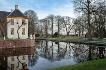 Fraeylemaborg estate Slochteren Groningen Netherlands