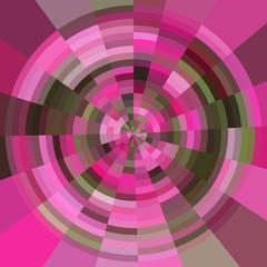 Abstract circular pink circle explosion pattern presentation background