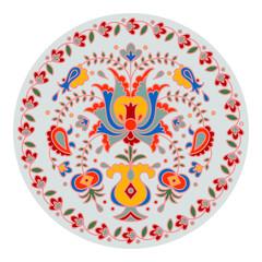Vector hand drawn National crimean tatar pattern illustration