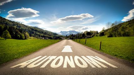 Sign 401 - Autonomy