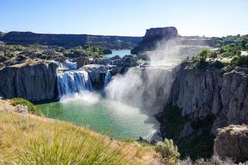 Shoshone falls in the morning, Twin Falls, Idaho